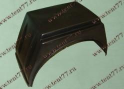 Подкрылки Газель 3302 задние 1шт квадратный ЕВРО (с полкой)