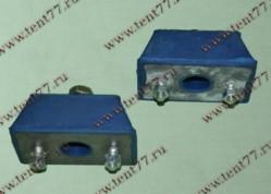Подушка двигателя Газель 3302 синий комплект 2шт с креплением