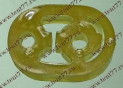 Подушка глушителя Газель 3302, 31105, 33104 овальная силиконовая