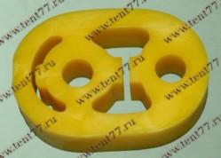 Подушка глушителя Газель 3302, 31105, 33104 (овал) полиуретан