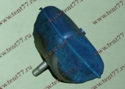 Подушка подрессорника Газель 3302,53 задн.(отбойник) синий армиров.