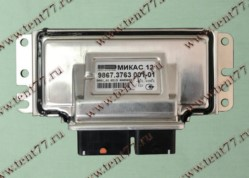 Блок упр. МИКАС 12  Газель 3302 двигатель УМЗ-421647  ЕВРО-4