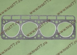 Прокладка ГБЦ  двигатель 402 (круг.отв) без герметика