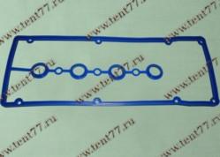 Прокладка клап. крышки  двигатель 406,405,409 в сборе (с упл.свеч.колодца) силикон (син/зел/красн)