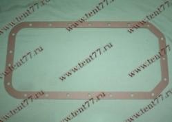 Прокладка поддона  двигатель 402 (картон)