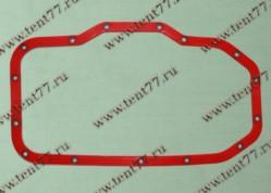 Прокладка поддона  двигатель 406 (силикон) с мет.шайбами (син/зел/красн)