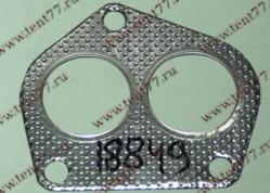 Прокладка прием.трубы Газель 3302,УАЗ двигатель 4215 метал.