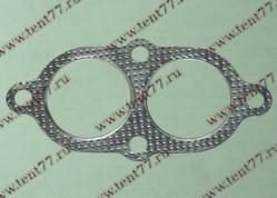 Прокладка прием.трубы Газель 3302,3110 двигатель 406 метал.  УС