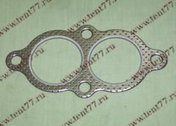 Прокладка прием.трубы Газель 3302,3110 двигатель 406 метал.