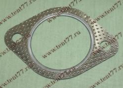 Прокладка прием.трубы Газель 3302 двигатель 405 ЕВРО-3 метал. (круглая)
