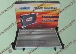 Радиатор охлаждения  Газель 3302 (с 2003 г.в) 2-х ряд. (алюм)