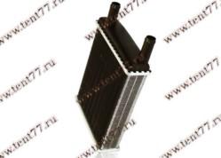 Радиатор отопителя Газель 3302 (ф=20mm) 2-х ряд (с 2003 г/в) алюм.