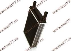 Радиатор отопителя Газель 3302 (ф=20mm) 2-х ряд (с 2003 г/в) алюм спираль-турболизат