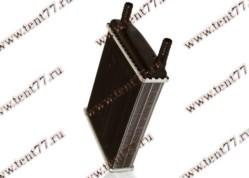 Радиатор отопителя Газель 3302 (ф=16mm) 2-х ряд (до 2003 г/в) алюм.
