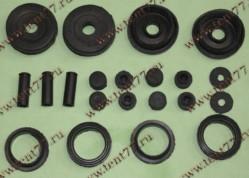 РК уплотнителей свечного колодца двигатель 406 полный нового образца (21 дет)