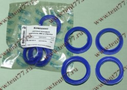 РК уплотнителей свечного колодца двигатель 406 нового образца (4 дет) силикон