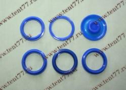 РК уплотнителей свечного колодца двигатель 405 ЕВРО-3 (6 дет) силикон