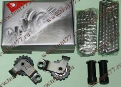 РК ГРМ  двигатель 406,405,409 ЕВРО-2 (малый) к-т 6шт (2рыч - 2нат - 72/92  Ditton  втулка 5.05)