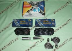 РК ГРМ двигатель 405,409 EВРO-3 (малый) к-т 6шт (2рыч - 2нат - 72/92  Ditton  втулка 6.35)