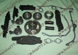 РК ГРМ  двигатель 406,405,409 ЕВРО-2 (полный) 72/92  Ditton  втулка 5.05