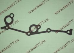 Прокладка крышки цепи двигатель 406 левая (ПМБ-0,5)