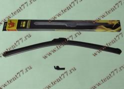 Щетка ст/очистителя б/каркасная (500mm) Газель 3302,ВАЗ 2108 (графит)