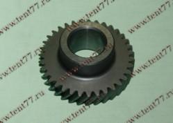 Шестерня 4-й передачи  КПП вала промежуточного Газель 3110, 3302 двигатель Cummins 2.8 (35 зубов)