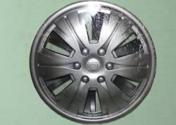Колпак колеса Газель декоративный *BEST серебро* задний (к-т 2шт.)
