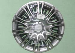 Колпак колеса декоративный  R16 Газель 3302  X5 сереброи  задн.(к-т 2шт)