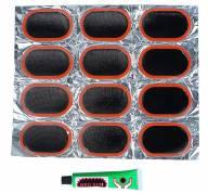 Набор для ремонта камер (12 заплаток- клей)