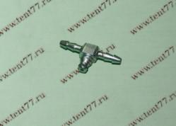 Штуцер трубки топлив. обратки (3 отв) двигатель Cummins 2.8 (метал)