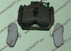 Суппорт тормозной  Газель 3302 правый с колодками АГРЕГАТ