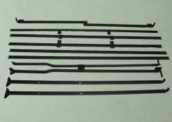 Каркас тента Газель Некст (NEXT) (платформа широкая с фанерным полом, мет.борта)