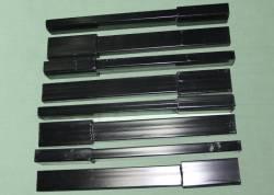 Стойки для увеличения высоты автомобильного тента удлиненная Газель 300мм