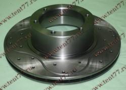 Диск тормозной  Газель 3302 н/об. (ф-104 мм)  SPORT  (вентил - перфорация)