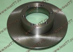 Диск тормозной  Газель 3302 нового образца (ф-104 мм)