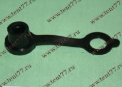 Колпачок защитный клапана прокачки Г,ПАЗ,УАЗ с хомутиком