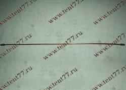 Трубка тормозная Газель 3302 ( 70см) медн.
