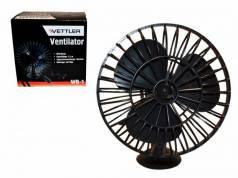 Вентилятор салонный 12В на присоске d-10 см