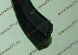 Уплотнитель двери задка Газель 2705,3221 (1,54м)  нащельник  (РК-001-05)