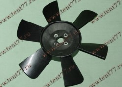 Вентилятор  двигатель 402,406 ( 6 лопастей) н/об.