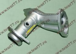 Труба приемная Газель 3302 двигатель 405 ЕВРО-2 под нейтрализатор (угол)