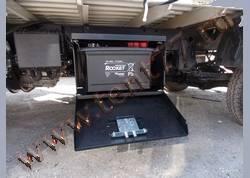 Ящик защиты АКБ Барьер 490х350х380 HYUNDAI HD65, HD78
