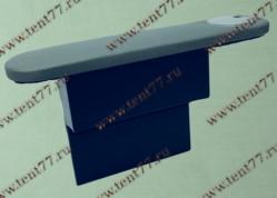 Подлокотник на дверь Газель 3302 с бардачком и подстаканником серый