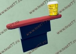 Подлокотник на дверь Газель 3302 с бардачком и подстаканником красный