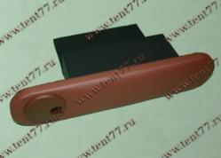 Подлокотник на дверь Газель 3302 с бардачком с подстаканником коричневый