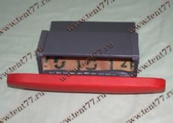 Подлокотник на дверь Газель 3302 с бардачком красный