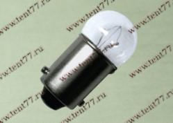 Лампа 12V 10W BA15s (габариты)