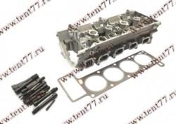 Головка блока цилиндров  двигатель 405, 409 (3-х опорная) крепеж и прокладка Оригинал