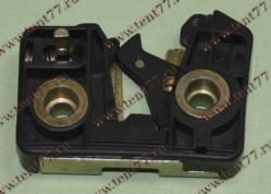 Механизм замка двери запорный Газель 3302 (левый) нового образца (бесшум)